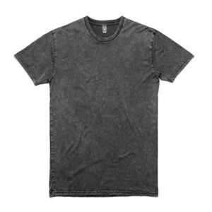 Custom Black Stone Wash Staple Tee  Thumbnail