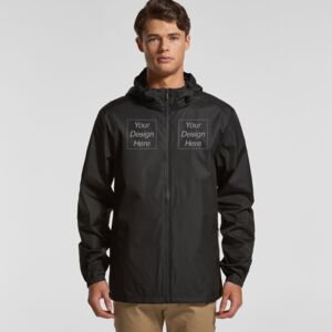 Mens Section Zip Jacket Thumbnail
